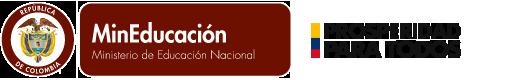 logo Mineducaci�n, Ministerio de Educaci�n Nacional - Rep�blica de Colombia